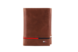 Tommy Hilfiger Men's Leather RFID Extra Capacity Trifold Wallet 31TL110044 image 13