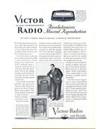 1925 vintage RCA Victor Micro Synchronous Radio print ad - $10.00