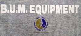 Vintage 90s 1994 B.U.M. BUM Equipment Sweatshirt Tennis Monty Hall Morto... - $25.74