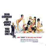 YOU ONLY LIVE TWICE POSTER 11X14 LOBBY CARD JAMES BOND GIRLS AGENT 007  - $24.99