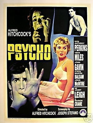 Psycho lobby card poster 11x17