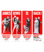 FROM RUSSIA WITH LOVE POSTER 11X14 LOBBY CARD JAMES BOND IS BACK! 007 CO... - $24.99