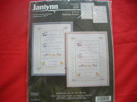 Janlynn Counted Cross Stitch Kit  . Nursery Prayer.  1998 - $11.99