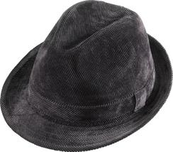 Henschel Hats 6301 Corduroy Gentleman Stingy Brim Fedora Fully Lined Lig... - $42.00