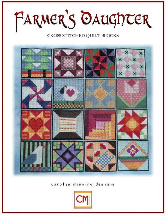 The Farmer's Daughter cross stitch chart CM Designs  - $12.40