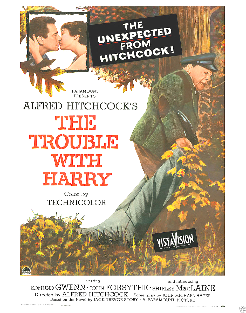 The trouble with harry poster 11x14 lobby card