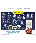 13 GHOSTS POSTER 11x14 LOBBY CARD WILLIAM CASTLE ILLUSION-O THIRTEEN VIE... - $19.99