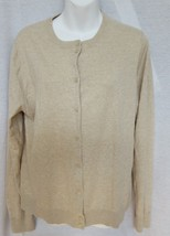 J.Crew Sweater Size XL Heather Neutral Caryn Cardigan Button Up New NWT ... - $30.29
