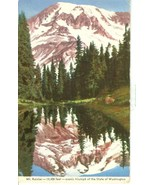 Mt. Rainier, scenic triumph of the State of Washington, unused Postcard  - $4.99