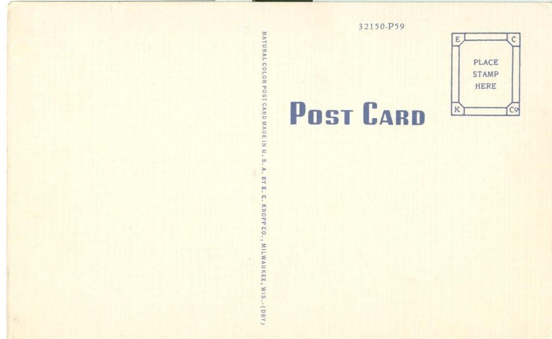 Mt. Shasta, Elevation 14,161 Feet, 1920s-1930s unused Postcard