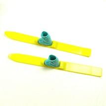 Vintage Yellow & Blue BARBIE Skies - $8.90