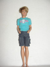 Ken Blaine Doll 2009 Mattel Rooted Hair w/ clothes 1961 blue shirt - $7.99