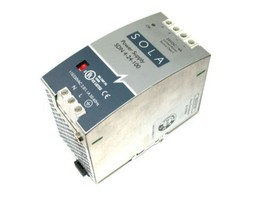 UP TO 2 SOLA POWER SUPPLY 24 VOLT DC 4 AMPS SDN 4-24-100 - $69.00