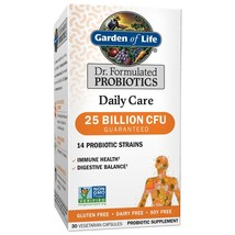 Garden of Life Dr. Formulated Daily Care Probiotics, 25 Billion CFU, 30 Ct - $34.95