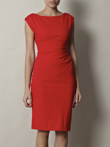 Diane von furstenberg red jori dress product 4 2873540 605148340 large flex