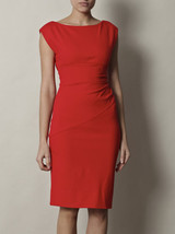 Diane von furstenberg red jori dress product 4 2873540 605148340 large flex thumb200