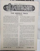 Pentagram, Peter Warlock's Vol. 10  1955-1956 - $49.00