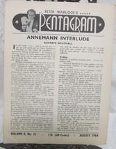 Pentagram, Peter Warlock's Vol. 8  1954 - $24.50