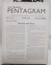 Pentagram, Peter Warlock's Vol. 6 1951-1952 - $49.00