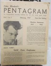 Pentagram, Peter Warlock's Vol. 1 1947 - $49.00