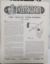 Pentagram, Peter Warlock's Vol. 12  1957-1958 - $44.10