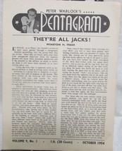 Pentagram, Peter Warlock's Vol. 9  1954-1955 - $34.30