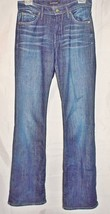 James Jeans Boot Cut Stretch Mid Rise Dark Blue Wash Hector size 27 - $28.68