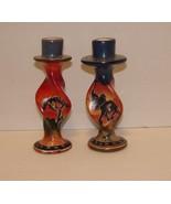 Handmade African Kisii Soapstone Taper Candleholders - $12.99