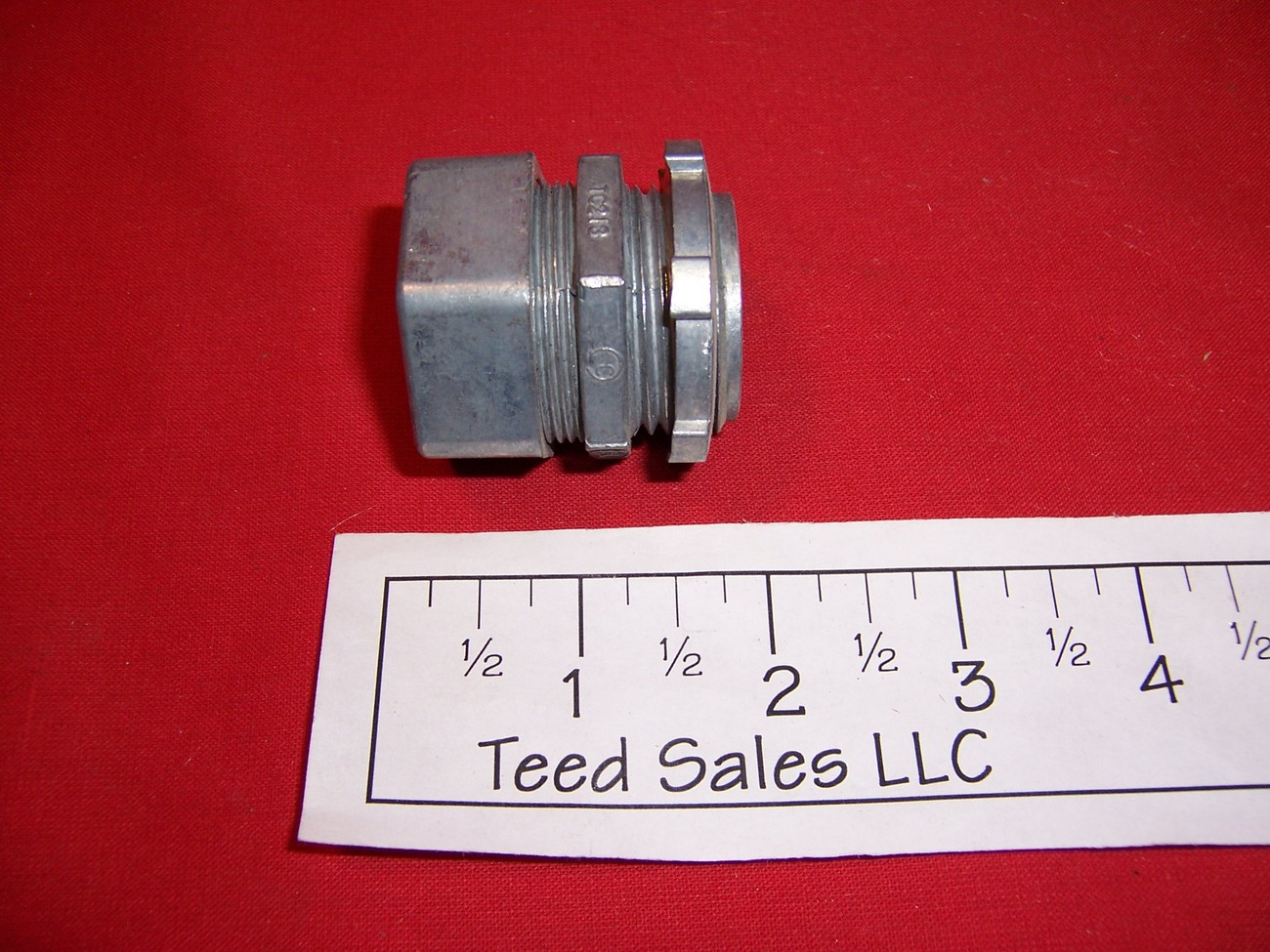 "EMT Conduit Compression Box Connector 1"" Lot of 26"