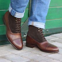 mens black Crown embroidered loafer velvet Shoes, Men velvet slippers - $179.99