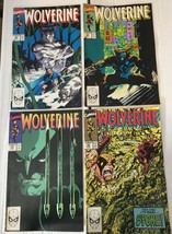 Wolverine #22 - 25 Complete Marvel Comic Lot 1990 VF 8.5 Condition X-MEN - $7.27