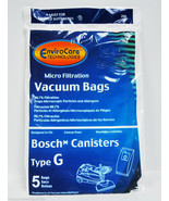 Bosch Type G Canister Vacuum Cleaner Bags 02-2400-09 - $9.40