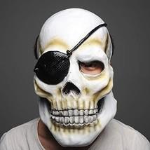 2PCS Latex Scary Halloween Masks for Men Creepy Skeleton Mask and Horror... - £16.00 GBP