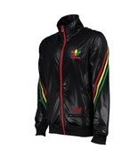Adidas Originals Rasta Stripe Chile 62 Twist Track Top Jacket BLACK Twister - £69.44 GBP