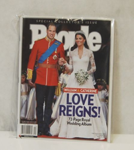 People Special Collectors Issue William  Catherine Love Reigns 72 Page Magazine