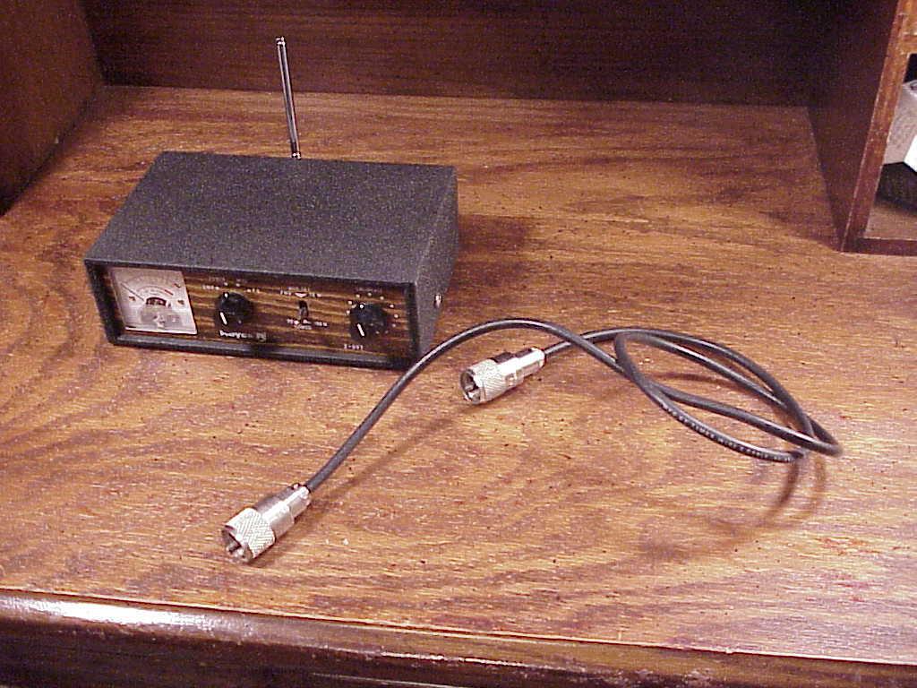 Royce Ham Radio CB SWR Meter Antenna Tuner, and 50 similar items