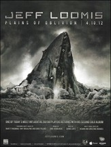 Jeff Loomis 2012 Plains of Oblivion advertisement 8 x 11 ad print  - $3.95