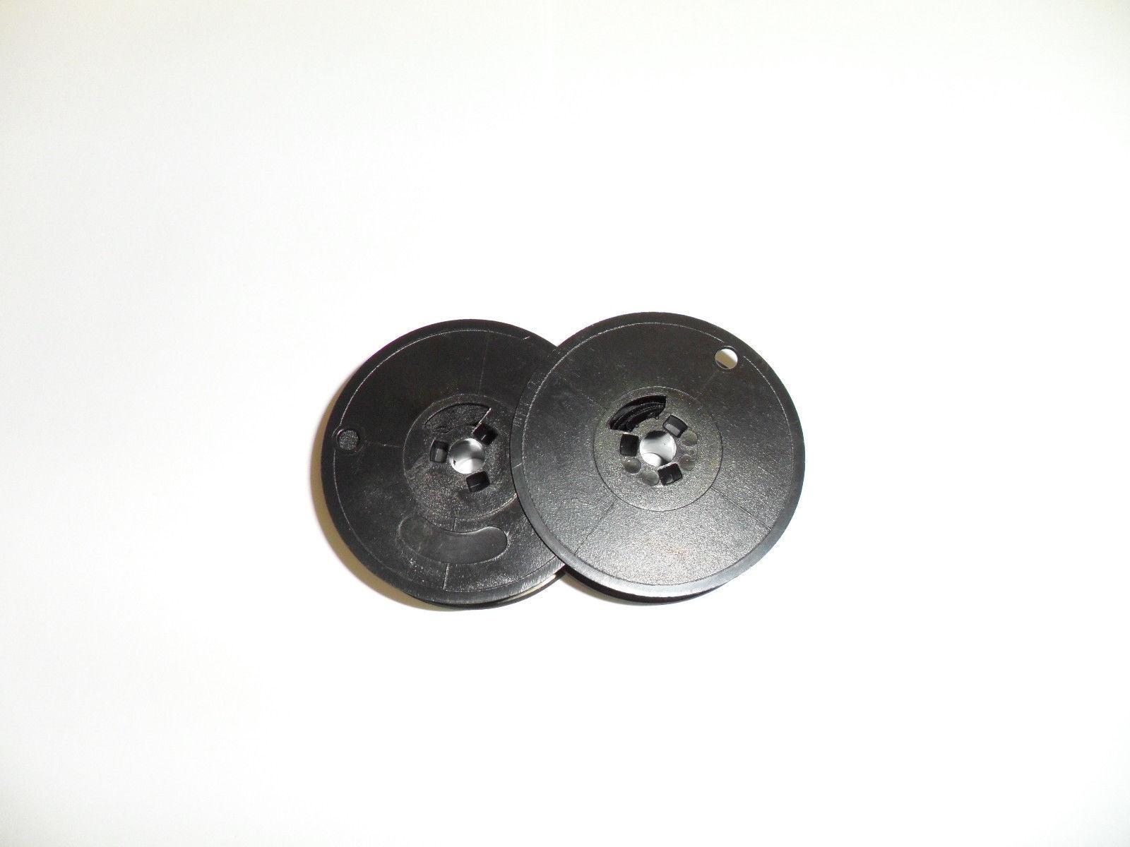 Underwood 315/319/478 Typewriter Ribbon Olivetti 1556 Black Twin Spool
