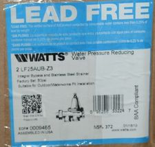 Watts LF25 AUB Z3 Water Pressure Reducing Two Inch 0009465 image 7