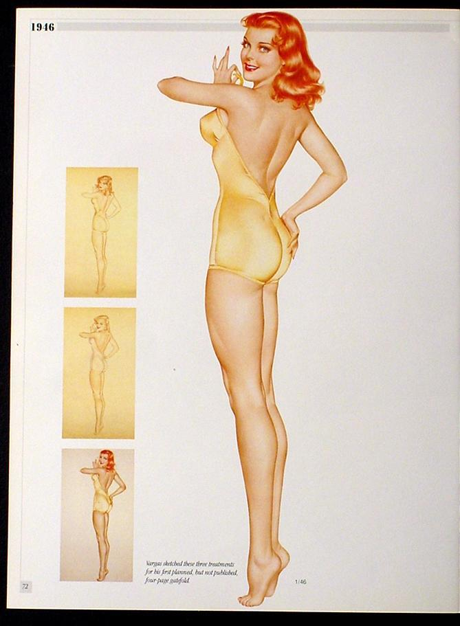 VARGAS 3 PINUP GIRL CENTERFOLD POSTERS HOTTIES FROM 1946 VARGA ESQUIRE PAINTINGS