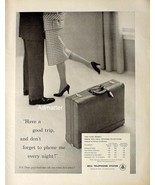 1958 Bell Telephone  Ad Station To Station - $11.87