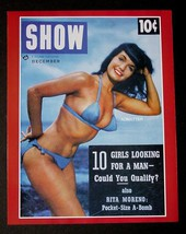 """Bettie Page 8.5""""X11"""" 2 Sided Pin Up Show Magazine Photo Plus 6 Fire Hot Images! - $12.86"""