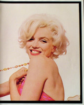 Marilyn Monroe 2-Sided 10X12 Pin-up Poster Sexy Smile Great photo! - $11.87