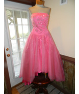Alyce size 10 Formal Prom Pageant Cruise dress PInk Hi-Low  New without tag - $179.99