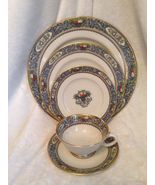 Lenox Autumn 5 piece setting ~ Mint, Vintage, Never Used ~ - $185.00