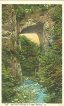 Natural Bridge, VA,  unused Postcard - $3.99