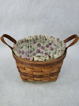 Lot of 3 Vintage LONGABERGER Baskets 1992 Handwoven Made in USA stamped - $34.64