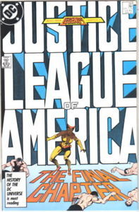 Primary image for Justice League of America Comic Book #261 DC Comics 1987 NEAR MINT