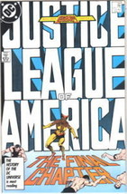 Justice League of America Comic Book #261 DC Comics 1987 NEAR MINT - $9.74
