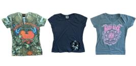 Harley Davidson Hark Rock Womens T-Shirts Tee's Tops Three Myrtle Beach ... - $29.95